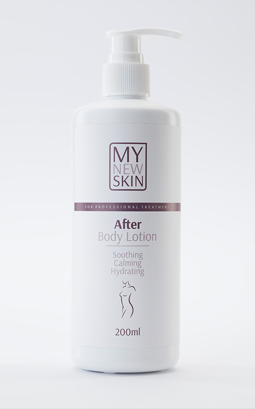 After Depilation Treatment Body Lotion